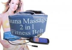 Sauna-massage Fitness Belt 2 en 1