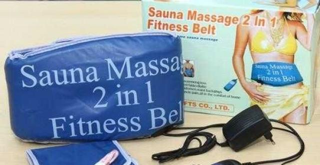 Sauna-massage Fitness Belt 2 en 1 - 3/3