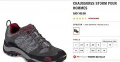 chaussures the north face