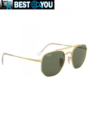 Ray-Ban Homme RB3648 Marshal Lunettes de soleil, Or - 2/5