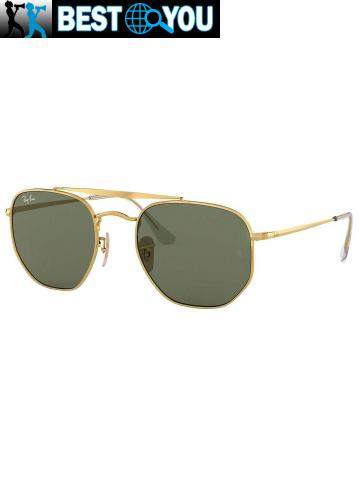 Ray-Ban Homme RB3648 Marshal Lunettes de soleil, Or - 5/5