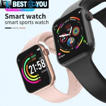 F10 Smart Watch Ecran Tactile Plein Écran Tactile Moniteur Cardiofréquencemètre Sport Tracker Montre