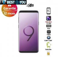 "Samsung Galaxy S9 Plus - 6.2"" - 128Go - 6 Go - Android - Violet"
